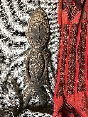 Old Papua New Guinea Carved Gope / Spirit Board Ex-Crispin Collection...