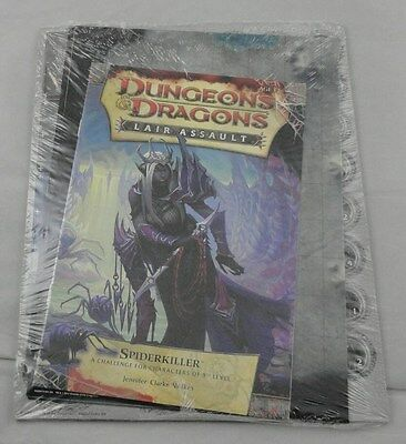 Dungeons & Dragons D&D 4th Ed Spiderkiller Lair Assault Promo