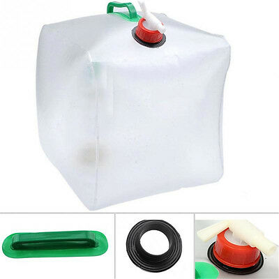 Water Carrier Container Drinking Water Bag Collapsible For Camping & Hiking Top