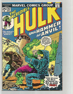 The Incredible Hulk #182 (Dec 1974, Marvel)