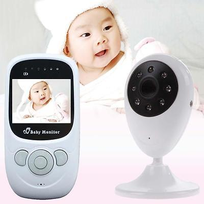 Wireless 2.4Ghz Digital LCD Baby Monitor Camera Night Vision Audio Video EU P DN