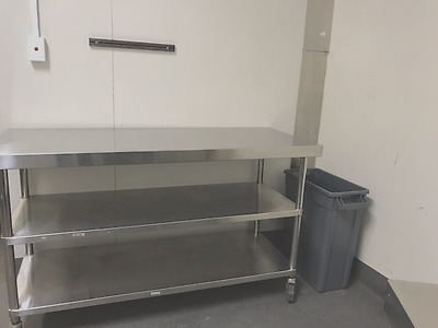Stainless steel Mobile Workbench - Commercial