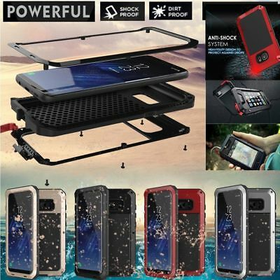For Samsung S8 Plus Shockproof Weather Dust Resistant Case Military Heavy Duty