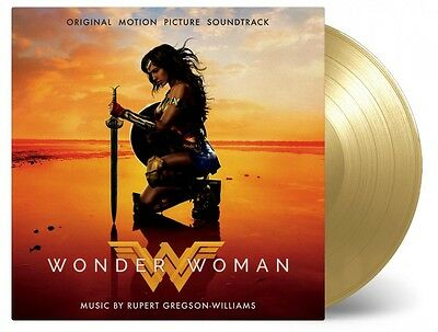 Wonder Woman - Movie Soundtrack 2x 180g GOLD COLOURED vinyl LP PRE-SALE