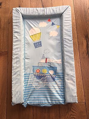 """Mothercare """"my 1st Adventure""""/ Nautical Theme Changing Mat"""