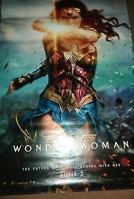 Wonder Woman Bus Shleter Posters 4ft x 6ft LOT OF 3