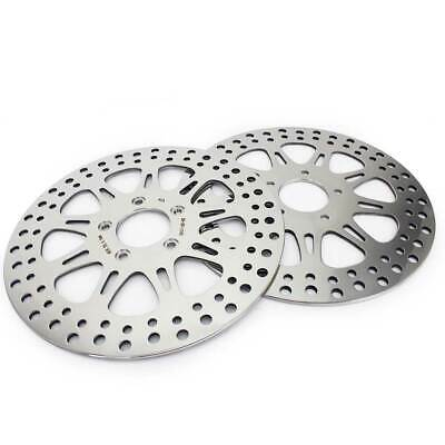 "2x Front Brake Disc Rotor 11.5"" for Harley Sportster 883 1200 Dyna Touring 00-10"
