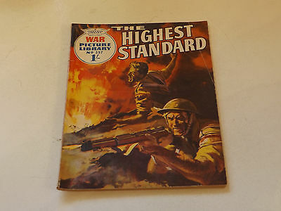 WAR PICTURE LIBRARY NO 357!,dated 1966!,GOOD for age,great 51!YEAR OLD issue.