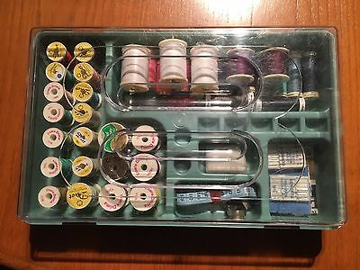 Vintage Sewing Box- Full Of Materials!