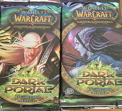 World of Warcraft TCG - Through the Dark Portal - 24 Pack Boosters ONLY