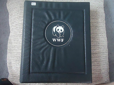world wide fund for nature set of 12 animals in nice folder