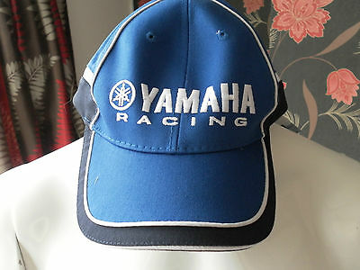 Yamaha Racing Paddock Baseball Cap - One Size  - Genuine Yamaha Product