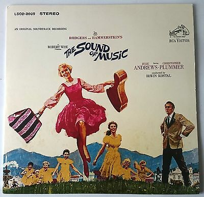 The Sound Of Music - Soundtrack - Heavyweight Vinyl + Booklet - Lp 2015 - New