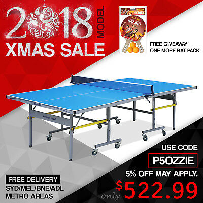 Double Happiness Outdoor Table Tennis Ping Pong Table for Park School Outside