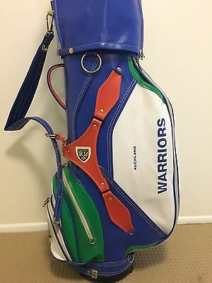 Prosimmon Vintage ARL/NRL Auckland Warriors rugby league golf bag