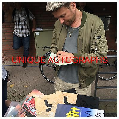 Damon Albarn Personally Signed Sunday Sunday CD, Blur, Gorillaz, Proof, 55