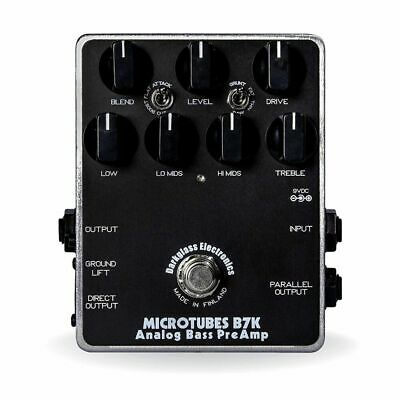 Darkglass Microtubes B7K Guitar Effects Pedal Analog Bass Preamp