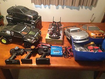 Heaps Of 1/10 Scale Rc Equipment(MST Ms-O1D, Sakura CS Sport And Trophy Truck