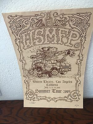 Rare Widespread Panic 2005 Wiltern Theatre L.A Poster Rat Fink Blake Wiley