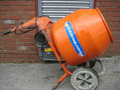 Belle mixer Electric petrol new or old drum cement concrete VAT Inv 240V 110V