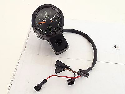 Bmw R 80 Gs G/s R 80 G/s Pd R 100 Gs Orologio Esterno Clock With Housing Uhr