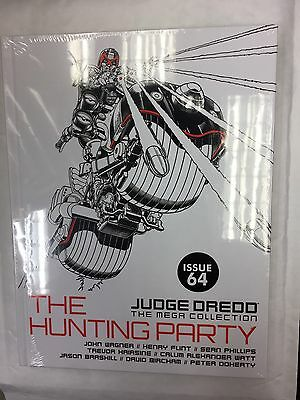 Judge Dredd Mega Collection Graphic Novel Issue 64 The Hunting Party John Wagner