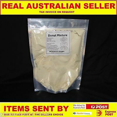 Donut Mix Just Add Water 3Kg Pack Just Add Water Just Like In The Shops New