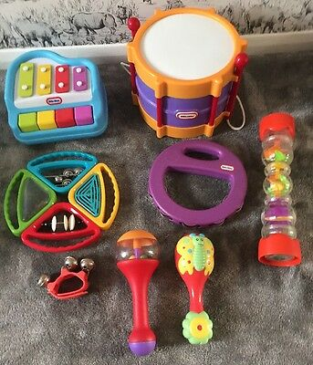 Musical Instrument Toy Bundle/lot. Baby/Pre-school/toddler