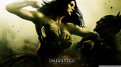 "005 Wonder Woman - Sexy Girl Justice League USA Hero 24""x14"" Poster"