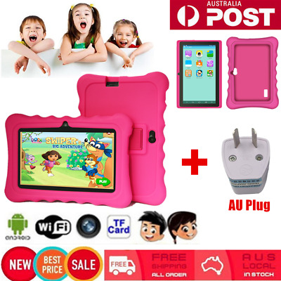 """7"""" In Tablet PC for Education Kids Children Android 4.4 Quad Core 8GB Camera qw"""