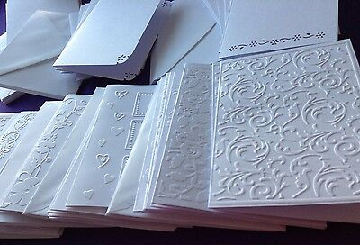65 Blank Cards And Envelopes Bundle Craft Card Making Craft Clear Out Job Lot