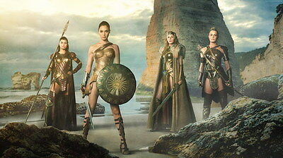 "078 Wonder Woman - Sexy Girl Justice League USA Hero 42""x24"" Poster"