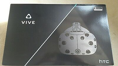 HTC Vive VR Headset - NEVER USED - in box with all accessories.