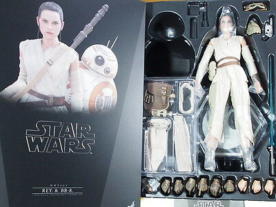 (NEW) Hot Toys Star Wars MMS337 REY 1/6 figure only
