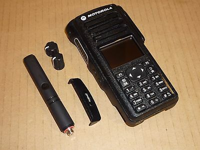 MOTOROLA DP4801e AERIAL CASING PANEL KNOBS SCREEN SPEAKER HOUSING 2 WAY RADIO