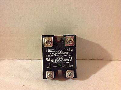 Crydom H12Wd4890G 4-32Vdc Input 600V 90A Solid State Relay