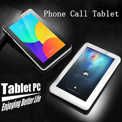 """9"""" Inch MTK6582 Android 5.1 USB 2.0 Quad Core Phone Call 1GB+8GB Tablet PC WiFi."""