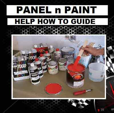 Car-Bike-Boat Automotive Spray Paint-Body Repair How To Do Guide Cdrom