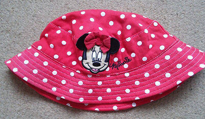 Minnie Mouse Summer Hat. 6-8 years.