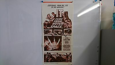 It Came From Outer Space Original Daybill Movie Film Poster Richard Carlson 1953