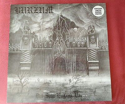 1Burzum1 lp vinyl original 1994 black metal