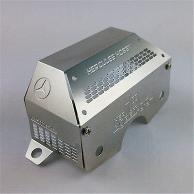 1:14 scale RC Truck stainless steel gear box rear cover HH-UP 0015(Benz) Tamiya