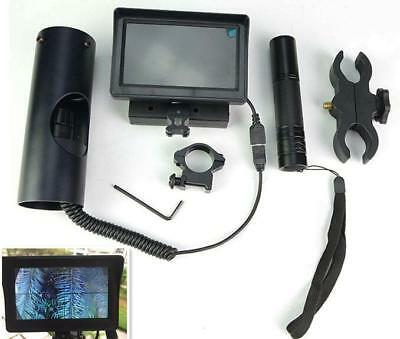 Night Vision Scope for Rifle Scope Add On DIY Device with Display Screen