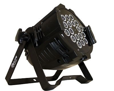 WE'LITE FL162 TCL High Power FARO PAR 64 dmx 18 LED TCL 3W  alta resa