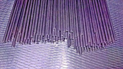 Straightened wire mild steel bar 3mm dia 550mm long steel rod by The TrapMan