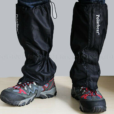 Waterproof Summit Gaiters Walking Boot Gaters Camping Hiking Leggings Sports