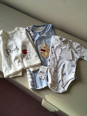 Bundle Of Bodysuits /Baby Grows For Newborn 0 To 3 Months