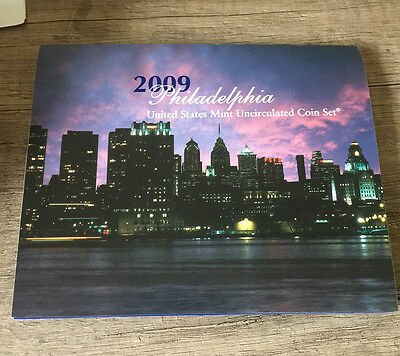 USA 2009 uncirculated coin set