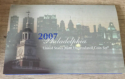 USA 2007 uncirculated coin set