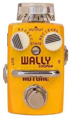 Hotone - Wally Looper Loop Station True Bypass Micro Guitar Pedal